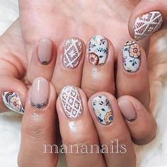 #manimonday Inspiration à la the amazing @mananails!! ✨