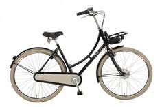 The Fado by Union Bicycles is an e-bike with classic Dutch bike appeal.