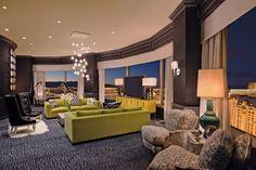 www.vegas-venues.com - Planet Hollywood Las Vegas Mega Suite Living Room