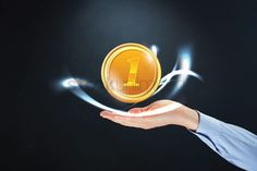 Hand presenting a gold coin stock photo , Hand Photo, Gold Coins, Graphic Design Art, Art Designs, Pattern Design, Infographic, How To Get, Layout, Stock Photos