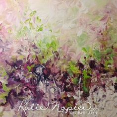 Vancouver Original Abstract Art - 'Spring 11' - Katie Napier Abstract Artist #art #abstractart