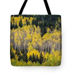 """A Season of Change  Tote Bag 18"""" x 18"""" by Saija  Lehtonen"""