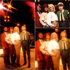 """At the end of the filming of the TV special """"Dick Cavett Meets Abba"""" the group posed for these photos... #Abba #Agnetha #Frida http://abbafansblog.blogspot.co.uk/2017/04/photo-shoot_26.html"""