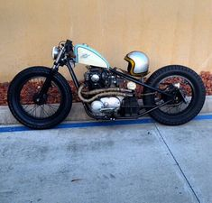 1977 Yamaha XS650 Bobber #HarleyDavidsonBobbers