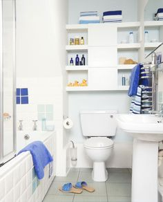 Small Bathroom Makeover - After  Makeover Bathroom Design Gallery