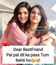 Rida nd najju Best Friends Forever Quotes, Best Friend Quotes Funny, Besties Quotes, Girly Quotes, Crazy Friends, True Friends, Girlish Diary, Cute Attitude Quotes, Dear Best Friend