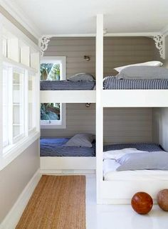 bunk room small space - Google Search