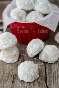 Russian Tea cakes or Chocolate Chip Snowballs. Looks goods, must try out on the youth kids soon!!