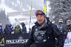 Alec Baldwin at celebrity ski