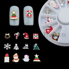 Nail art is something that needs proper care alongside best quality products, to produce a fine result. AQ Nail Art offers high quality, latest christmas nail art decorations products at affordable prices!http://www.aqnailart.com/christmas-nail-accessories-set.html