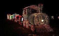 Christmas Trains HD Wallpaper