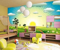 Çocuk Odaları İçin 10 Güzel Duvar Kağıdı Modeli | DekorStore