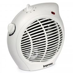 Impress Watt Electric Fan Compact Heater with Thermostat
