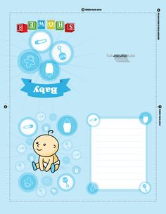 decoracion baby shower niño azul - Buscar con Google