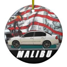 2006 Malibu Ceramic Ornament