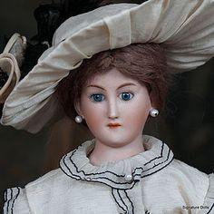 RARE AM 411 German Lady Doll as Gibson Lady (item #1279653)#dollshopsunited