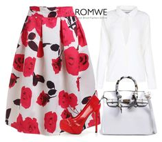 """""""2/10 romwe"""" by fatimka-becirovic ❤ liked on Polyvore"""