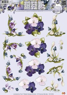 3D Knipvel - Precious Marieke - Bloemen