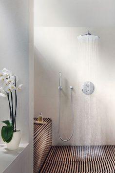 Amazing bathroom shower ideas, On a budget walk in modern bathroom designs DIY Master ceilings, no door and with glass door - Small bathroom shower