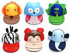Kids Fun Animal Sun Hats Baseball Cap 2-6 Years Flat Brim Children Child  Toddler  137471e2247