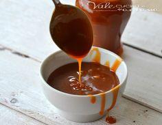 Salsa morbida al caramello mou ricetta base