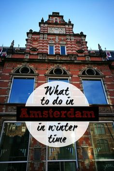 What to do in Amsterdam in winter, where to stay and places to eat. A complete itinerary for 3 days in Amsterdam in winter, all you need to plan your trip to this amazing city in The Netherlands.  via @loveandroad (scheduled via http://www.tailwindapp.com?utm_source=pinterest&utm_medium=twpin&utm_content=post190908377&utm_campaign=scheduler_attribution)