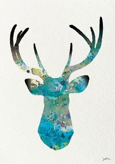 geometric deer - Google Search