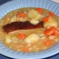 Eastern European Recipes, European Cuisine, White Bean Soup, White Beans, Gourmet Recipes, Cooking Recipes, Healthy Recipes, Ham Recipes, Pasta Recipes
