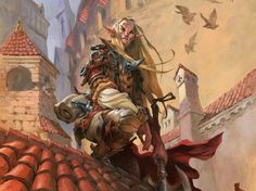 Scout of Selvala by Jesper Ejsing for Magic The Gathering