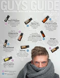 Guys guide to surviving winter with essential oils.