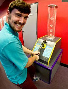 Slow bubbles exhibit (Wollongong Science Centre & Planetarium)