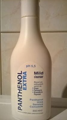 REVIEW: panthenol extra mild cleanser Vodka Bottle, Thoughts, How To Make, Blog, Ideas