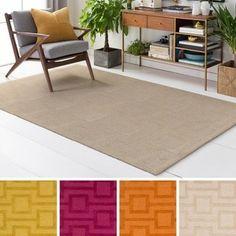 Hand Tufted Pecan Wool Rug (8' x 10')