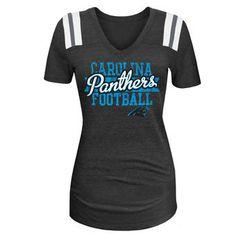 Carolina Panthers 5th  amp  Ocean by New Era Women s 4th Quarter Glitter  Tri-Blend dabb220ae