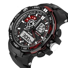 27a512734ee Waterproof Sport Digital Watch® 2018. Men s WatchesCasual ...
