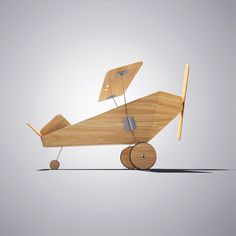 Aircraft Toy by hassan mohamed, via Behance