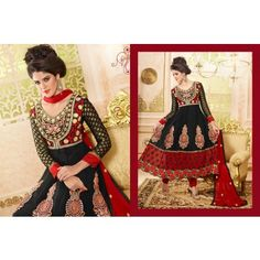Want to Buy ELIZA DESIGNER ANARKALI SUIT [Semi Stitched] then Souqelkhaleej.com is best place for you.