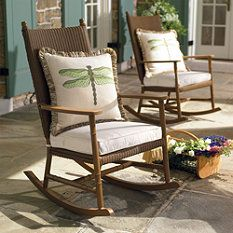 front porch rocking chairs #front_porch  #entry  #rocking_chair