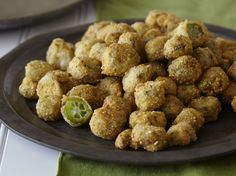 Fried Okra from FoodNetwork.com