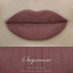 NEW FORMULA AS OF 3/23/16   Liquid Lipstick in Sugarcane a dusty brown toned nude pink Liquid to matte kiss proof & smudge proof vegan formula