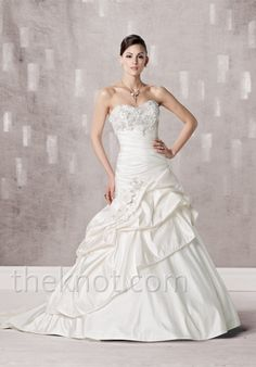 Check out this #weddingdress: 231243 by kathy ireland for Mon Cheri via iPhone #TheKnotLB from #TheKnot