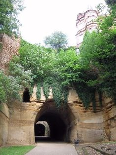 ickleweb's image - Tunnel in The Park, Nottingham Nottingham Caves, Sherwood Forest, Slums, Bridges, Paths, Robin, United Kingdom, Destinations, Places To Visit