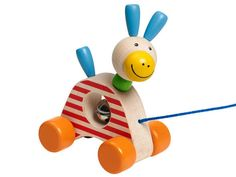 Pedro is an extremely cute wooden pull-along donkey who will follow their toddler owner everywhere! His bright colours and smiling face make...