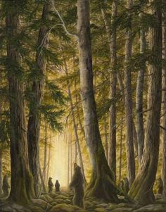 'The Portal' by Robert Bissell. One of Robert Bissell's newest oil paintings. Painted for a show he was featured in at Chloe Fine Arts Gallery in August. Come see the original at the gallery and visit www.chloefinearts.com for more information.