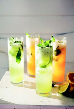 This is a super-refreshing drink to enjoy at the end of summer, when melons are ripe, juicy, and sweet.