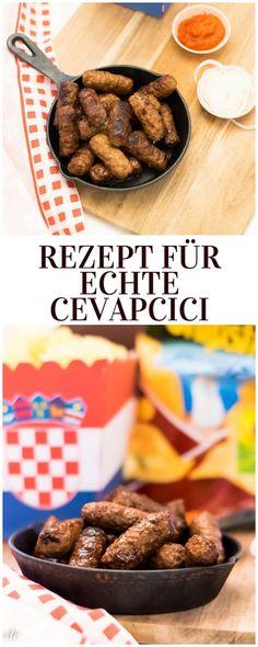 Rezept für echte Cevapcici #cevapcici #rezept #balkanfood