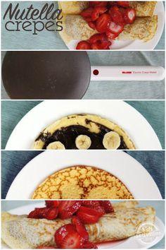 IHOP Copycat Nutella Crepes