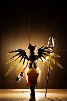 Overwatch Mercy cosplay