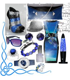 """Blue Tears"" by noorabduahmed ❤ liked on Polyvore"