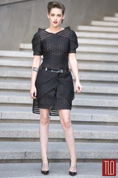 Stewart in Chanel, killing it dead.